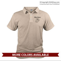 _Polo: Line-Drawn EGA (Unisex)
