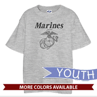 _T-Shirt (Youth): Line-Drawn EGA