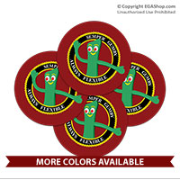 Coaster Set: Semper Gumby (Sandstone or Rubber)
