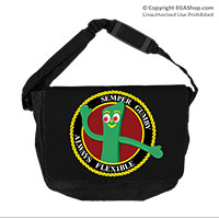 Messenger Bag: Semper Gumby