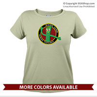 _T-Shirt (Ladies): Semper Gumby