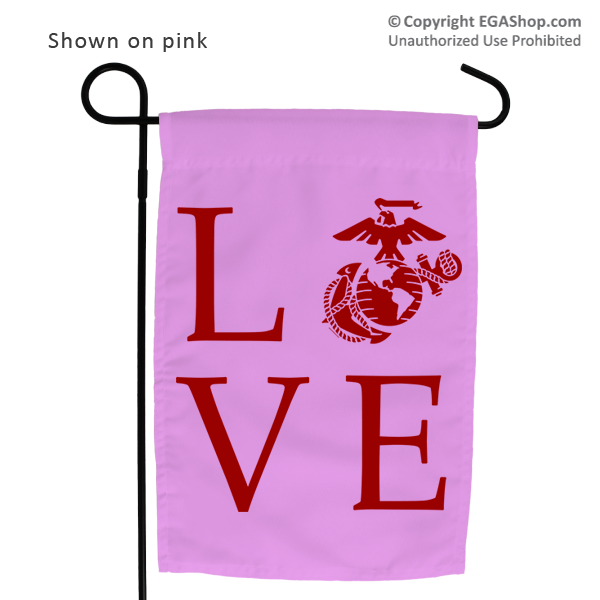 Garden Flag: Love w/ EGA