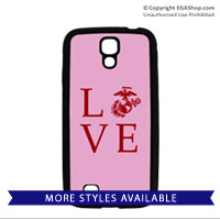 Cell Phone Cover: Love w/ EGA