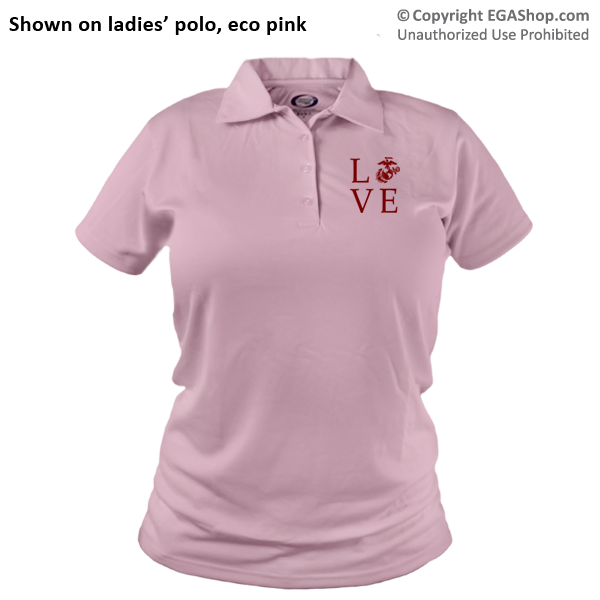 _Polo (Ladies): Love w/ EGA