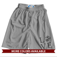_Athletic Shorts: Love w/ EGA (Unisex)