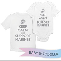 _T-Shirt/Onesie (Toddler/Baby): KEEP CALM