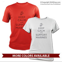 _Performance Shirt: KEEP CALM