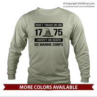 _Long Sleeve Shirt (Unisex): Don't Tread