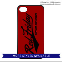 Cell Phone Cover: Red Friday Support Troops