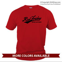 _T-Shirt (Unisex): Red Friday Support Troops
