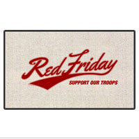 Doormat: Red Friday Support Troops