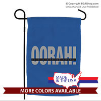 Garden Flag: OORAH! It's a Marine Thing (Grey)