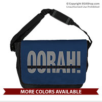 Messenger Bag: OORAH! It's a Marine Thing (Grey)