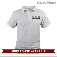 "_Polo: ""OORAH!"" It's a Marine Thing (Unisex)Grey"