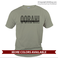 _T-Shirt (Unisex): OORAH! It's a Marine Thing (Grey)