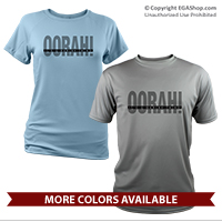 _Performance Shirt: OORAH! It's a Marine Thing (Grey)