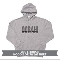 _Hoodie or Sweatshirt: OORAH! It's a Marine Thing (Grey)