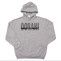 _Hoodie: OORAH! It's a Marine Thing (Grey)