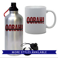 Mugs & Steins: OORAH! It's a Marine Thing (Red)