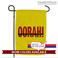 Garden Flag: OORAH! It's a Marine Thing (Red)