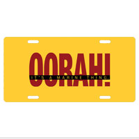 License Plate: OORAH! It's a Marine Thing (Red)