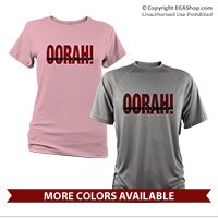 _Performance Shirt: OORAH! It's a Marine Thing (Red)