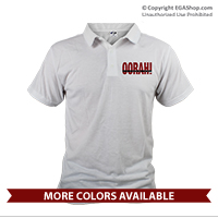 "_Polo: ""OORAH!"" It's a Marine Thing (Unisex)Red"