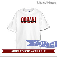 _T-Shirt (Youth): OORAH! It's a Marine Thing (Red)