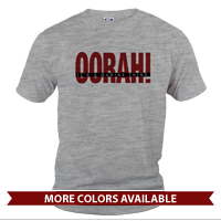 _T-Shirt (Unisex): OORAH! It's a Marine Thing (Red)