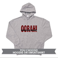 _Hoodie or Sweatshirt: OORAH! It's a Marine Thing (Red)