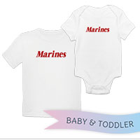 _T-Shirt/Onesie (Toddler/Baby): Marines