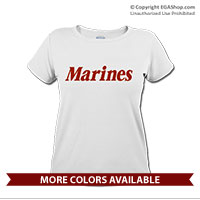 _T-Shirt (Ladies): Marines