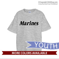 _T-Shirt (Youth): Marines