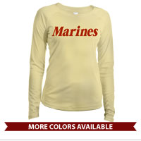 _Long Sleeve Solar Shirt (Ladies): Marines