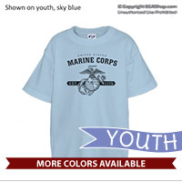 _T-Shirt (Youth): EGA Vintage w/ Banner