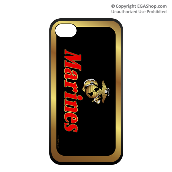 Cell Phone Cover: EGA w/ Gold Border