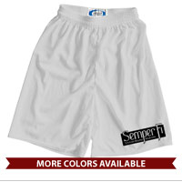 _Athletic Shorts: Semper Fi (black)