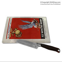 WWII Poster, Fly With Marines: Cutting Board