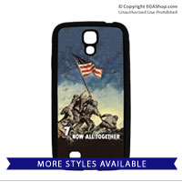 WWII Poster, Iwo Jima: Cell Phone Cover