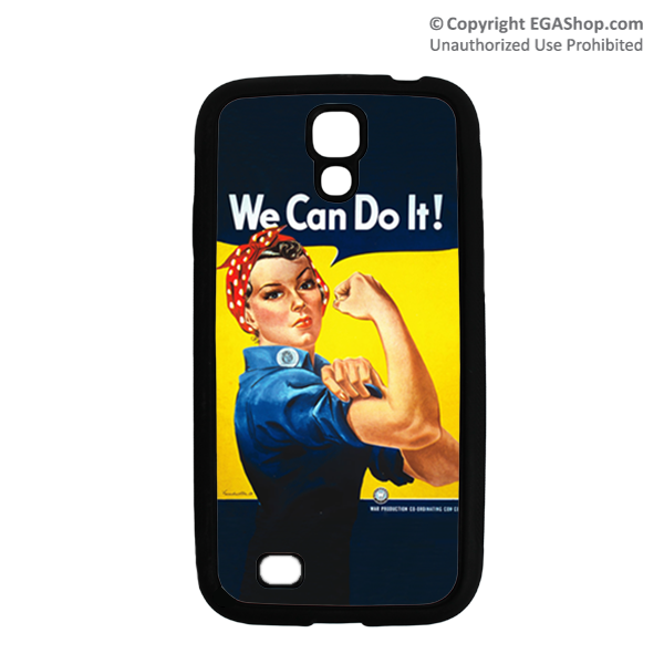 WWII Poster, Rosie the Riveter: Cell Phone Cover