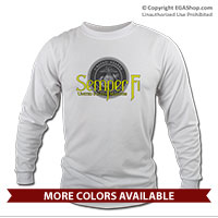 _Long Sleeve Shirt (Unisex): Semper Fi w/ Seal