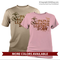 _Performance Shirt: Pain is Weakness