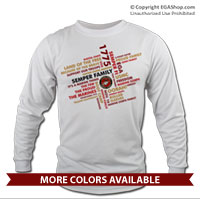 _Long Sleeve Shirt (Unisex): Semper Family