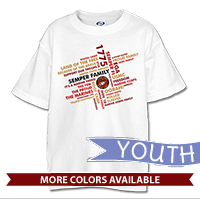 _T-Shirt (Youth): Semper Family
