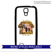 Cell Phone Cover: Fallen Heroes, We Salute You