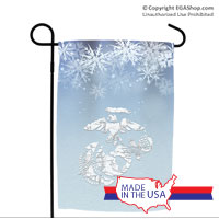 Garden Flag: Icy EGA