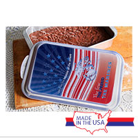 Cake Pan and Lid: Land of the Free
