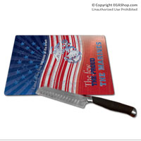 Cutting Board: Land of the Free (Glass)