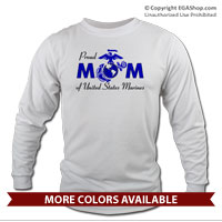 _Long Sleeve Shirt: Proud Mom-EGA