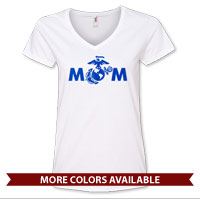 _Ladies V-Neck: MoM EGA